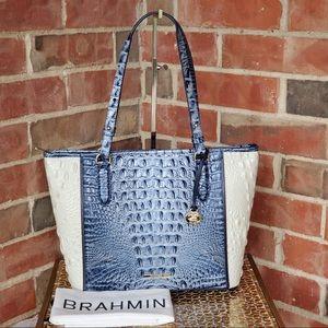 Brahmin Medium Asher Aquarius Lattice NWT Handbag